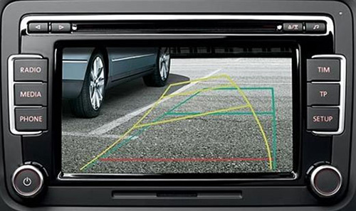 Rear-back up camera